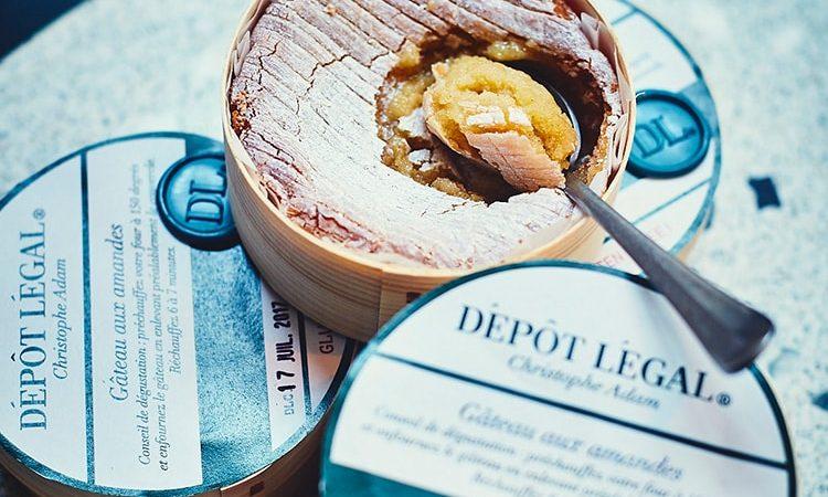 Depot Legal - Chef Christophe Adam - Paris