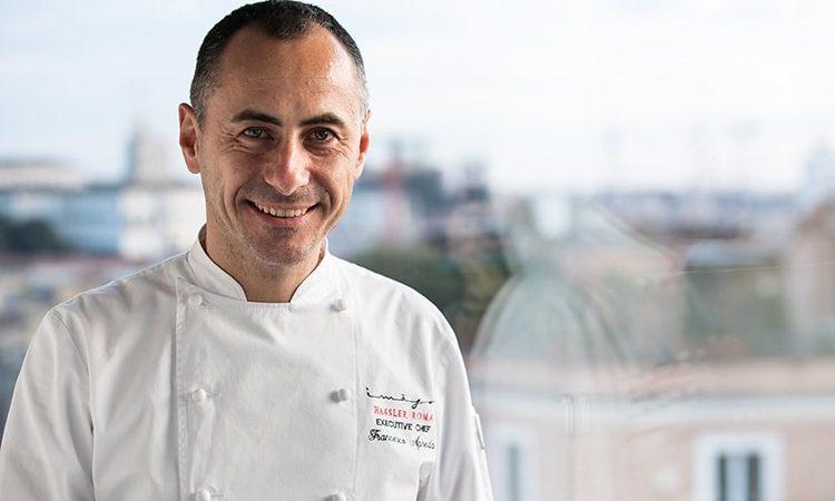 Chef Francesco Apreda - Imàgo Hassler - Rome