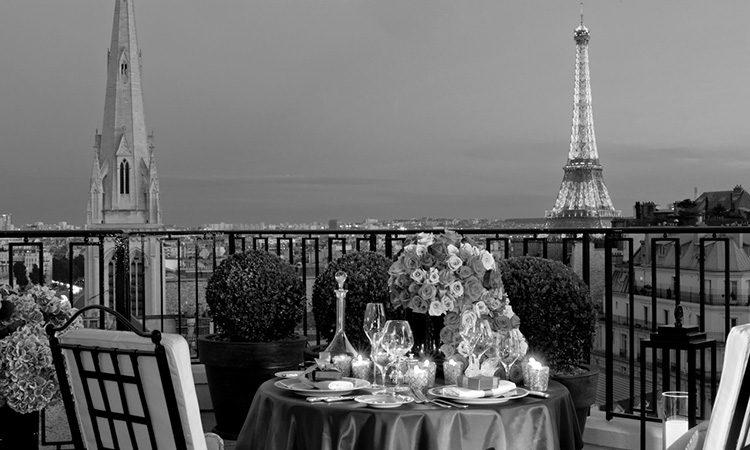 Sommelier Gabriele Del Carlo - Hotel FS George V - Paris