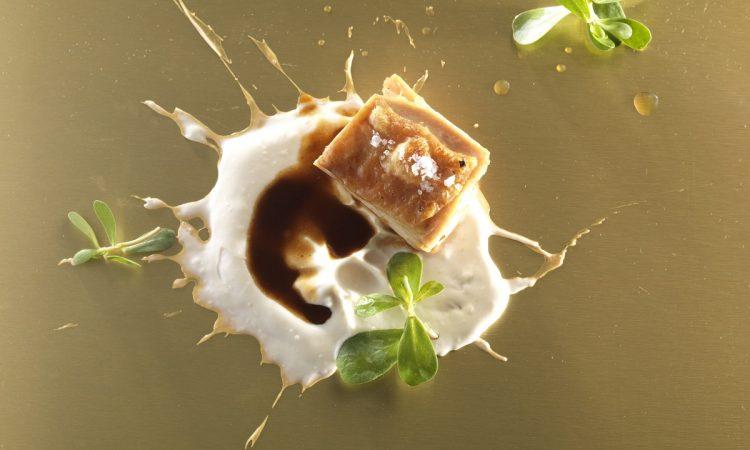 Chef Enrico Bartolini - Roasted chicken hip with yuzu sauce