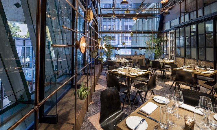Chef Enrico Bartolini - Spiga Italian restaurant - Hong Kong.
