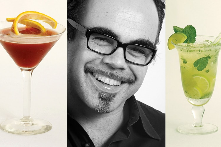 Flûte Bar and Lounge - Midtown Manhattan: The owner Herve Rousseau