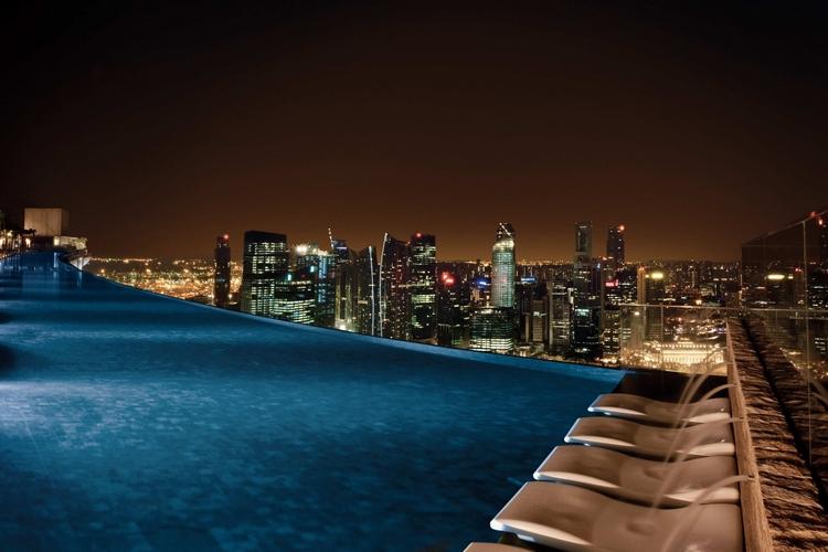 Marina Bay Sands - Singapore Infinity Pool