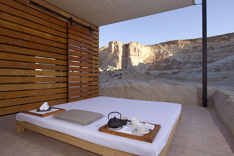 Amangiri canyon Point - Spa Thai Massage Pavilion