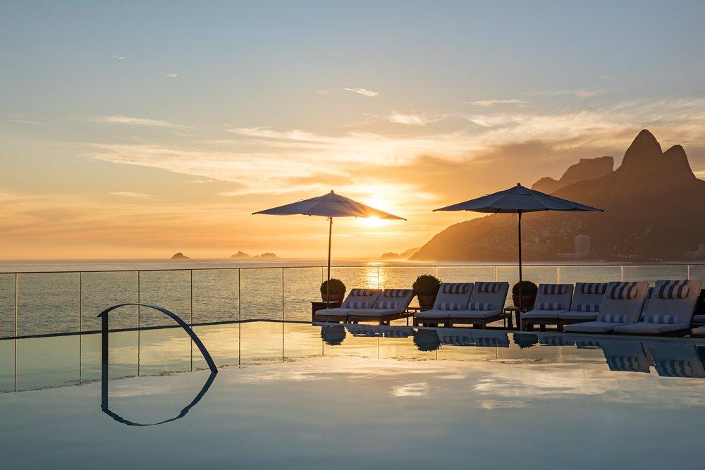 Hotel Fasano Rio de Janeiro - Rooftop Pool
