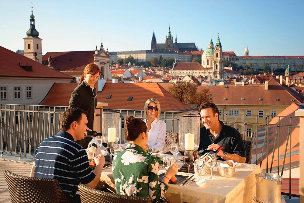 Prague - Mandarin Oriental Hotel - Presidential Suite Terrace