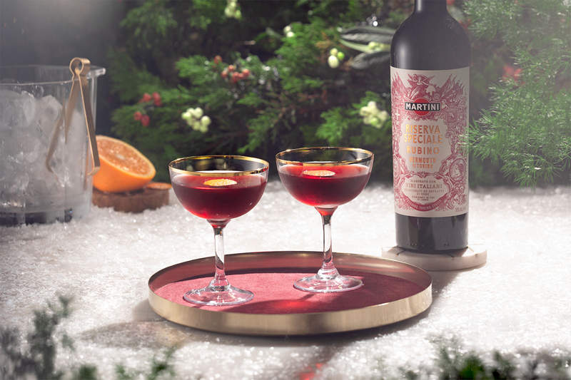iBESTmag - Three cocktails for Christmas - drink SPICED BOULEVARDIER